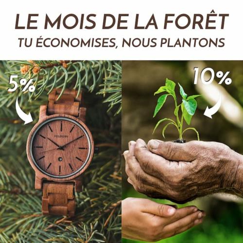 Le mois de la forêt avec Holzkern - Tu économises, nous plantons!