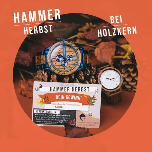 Der Hammer Herbst bei Holzkern