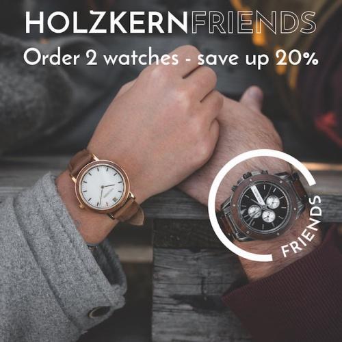 Le code de réduction Holzkernfriends