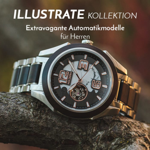 Die Illustrate Kollektion (43mm)