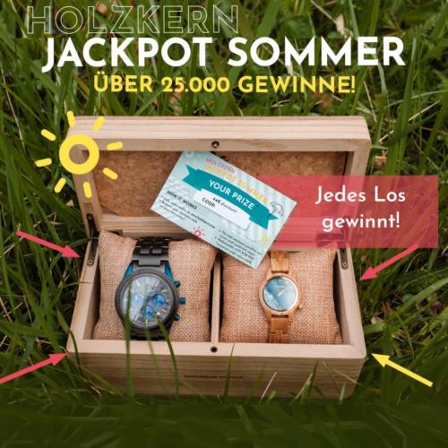 Der Holzkern Jackpot Sommer