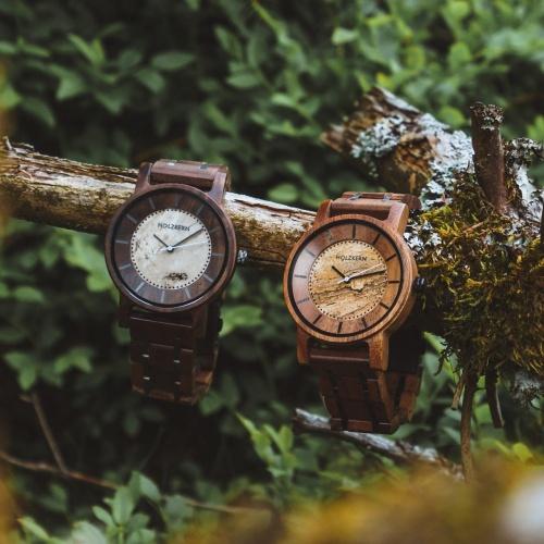 Embarque pour une aventure avec ta montre Holzkern