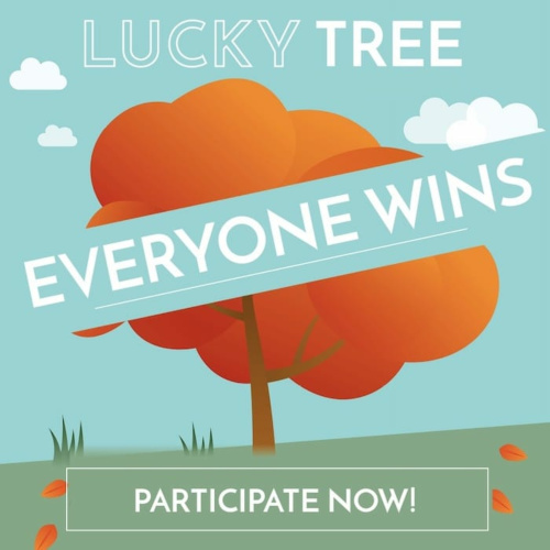 Holzkern Lucky Tree: Join & Win