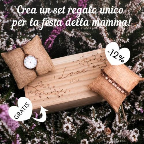 Un regalo Holzkern unico, come la mamma - Festa della mamma