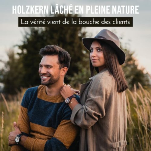 Holzkern lâché en pleine nature : la parole est à nos clients, découvre ce qu'ils pensent de nous