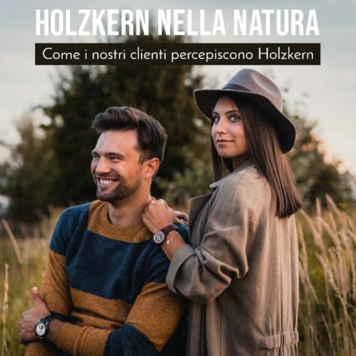 Holzkern nella natura: i nostri clienti sui loro orologi