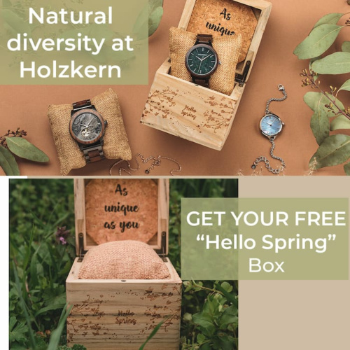 More than 700 unique Holzkern Designs