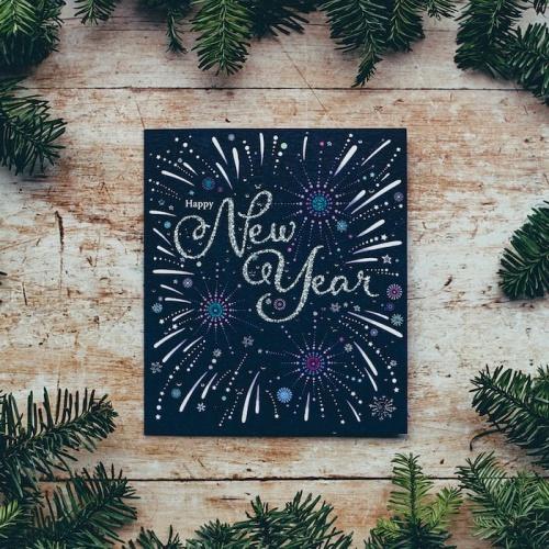 Nuovo anno - Nuova vita - Nuove risoluzioni - Nuovo orologio