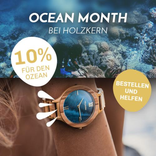 Holzkern Ocean Month: Du sparst, wir helfen