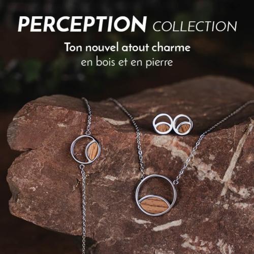 Les bijoux de la collection Perception