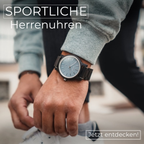 Sportliche Uhren für jeden Tag