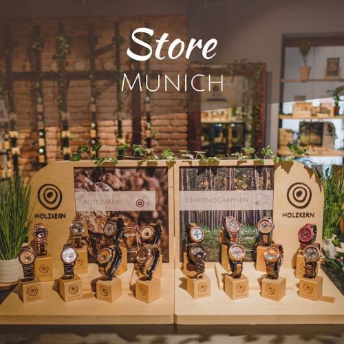 La boutique Holzkern à Munich