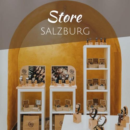 Der Holzkern Store in Salzburg