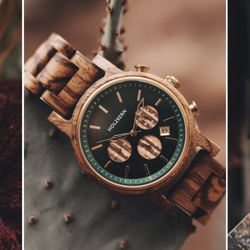 5 Reasons why you must have watches made of wood and stone