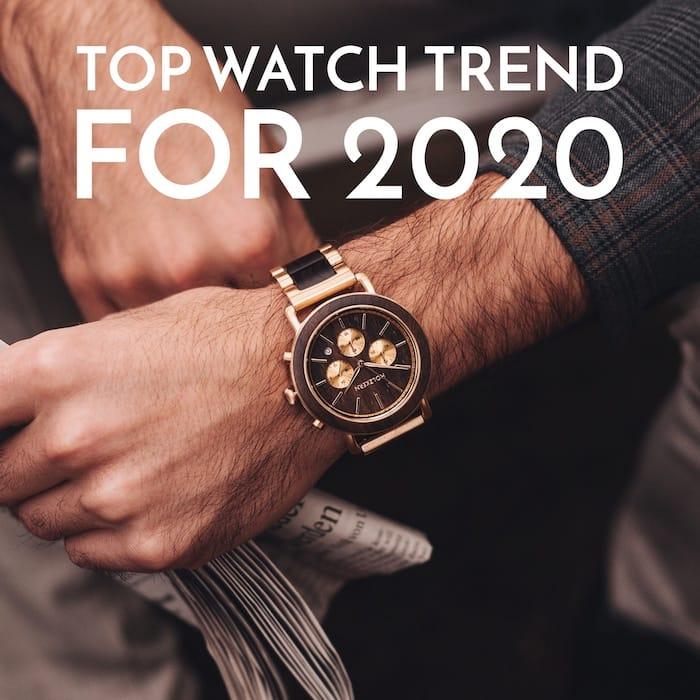 Montres & tendance pour l'année 2020!