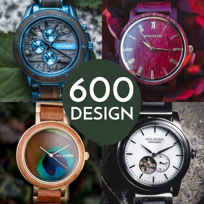 600 design Holzkern: ogni modello un pezzo unico
