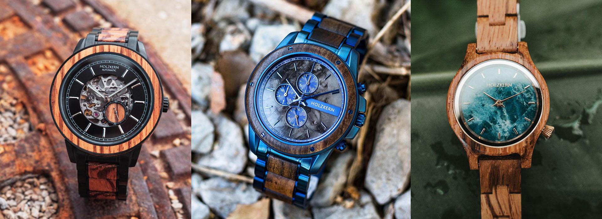 7 Gründe für eine Uhr aus Holz und Stein