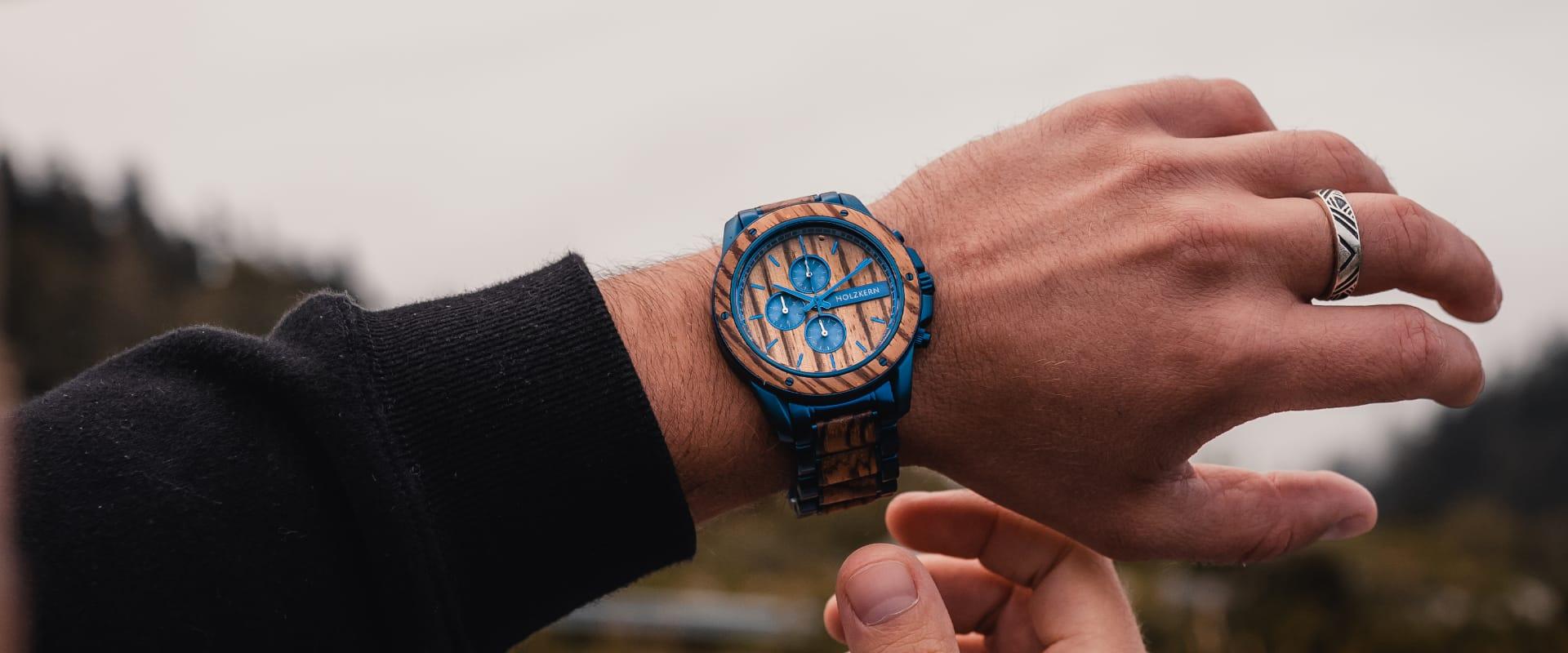 8 bonnes raisons de se procurer une montre chronographe en bois et en pierre