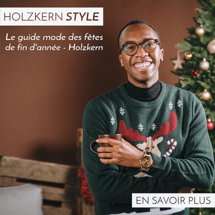 Le guide mode des fêtes de fin d'année - Holzkern