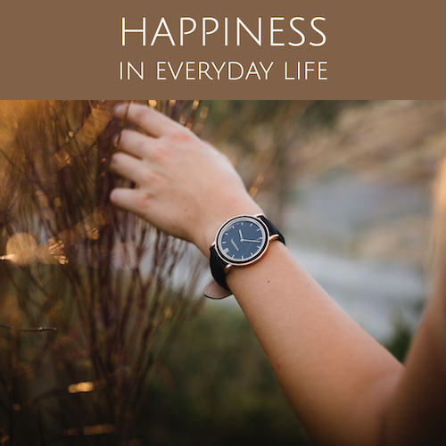 Your Holzkern watch as the symbol of a joyful day!