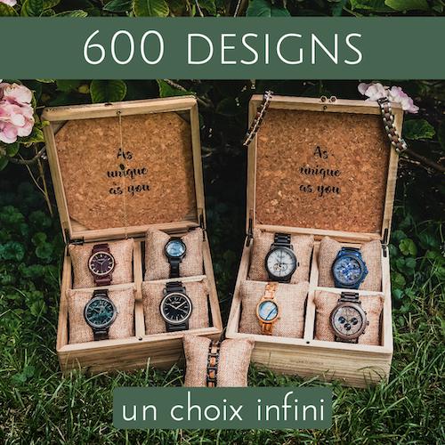 Plus de 600 designs disponibles - Possibilités infinies !