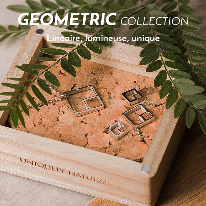 Les parures de la Geometric Collection