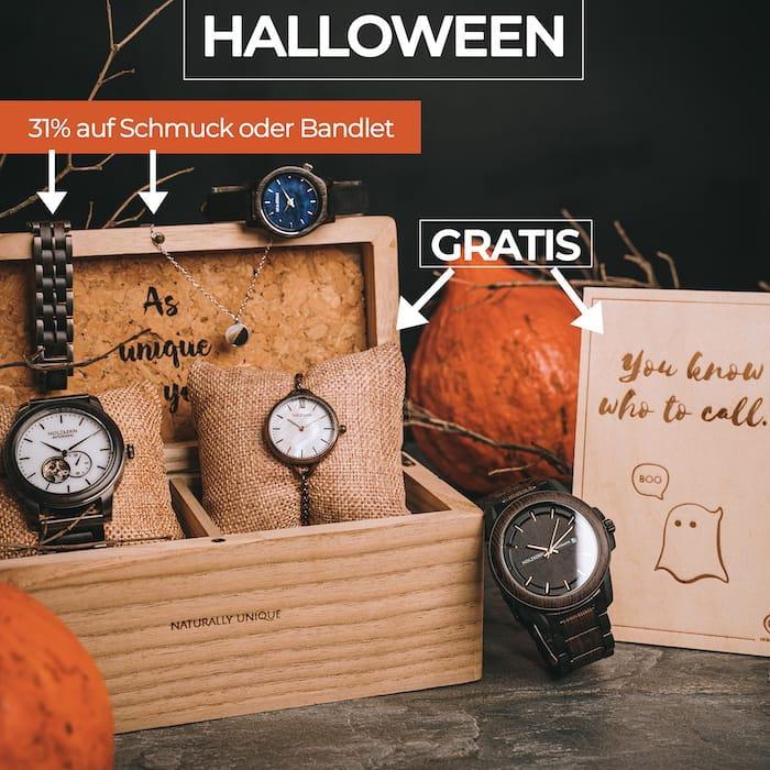 Halloween mit Holzkern