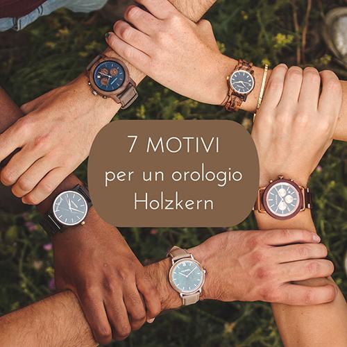 7 motivi per un orologio in legno e pietra