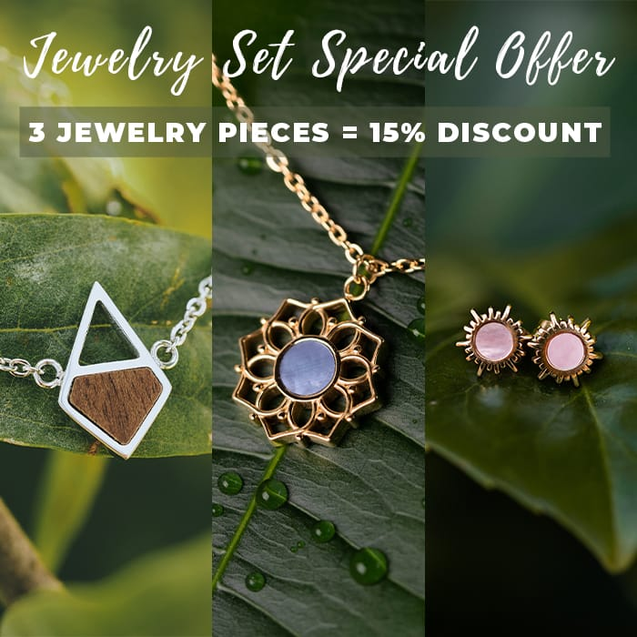 Jewelry Set Special Offer - 15% discount on 3 jewelry pieces