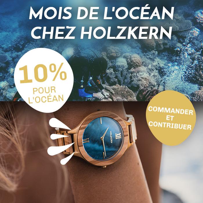 Holzkern Ocean Month : vous économisez, nous aidons