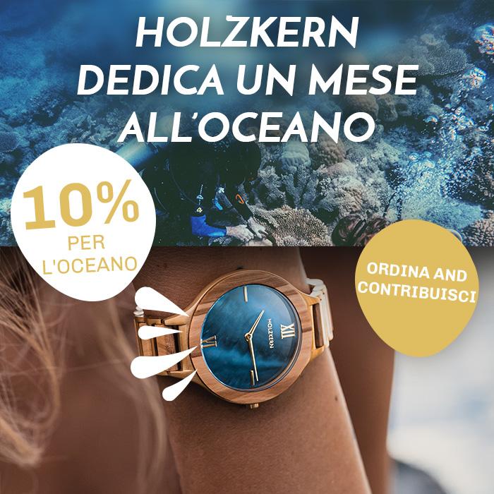 Holzkern Ocean Month: Tu risparmi e noi doniamo