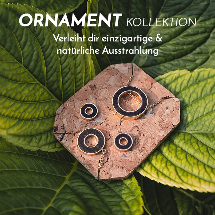 Die Ornament Schmuck-Kollektion