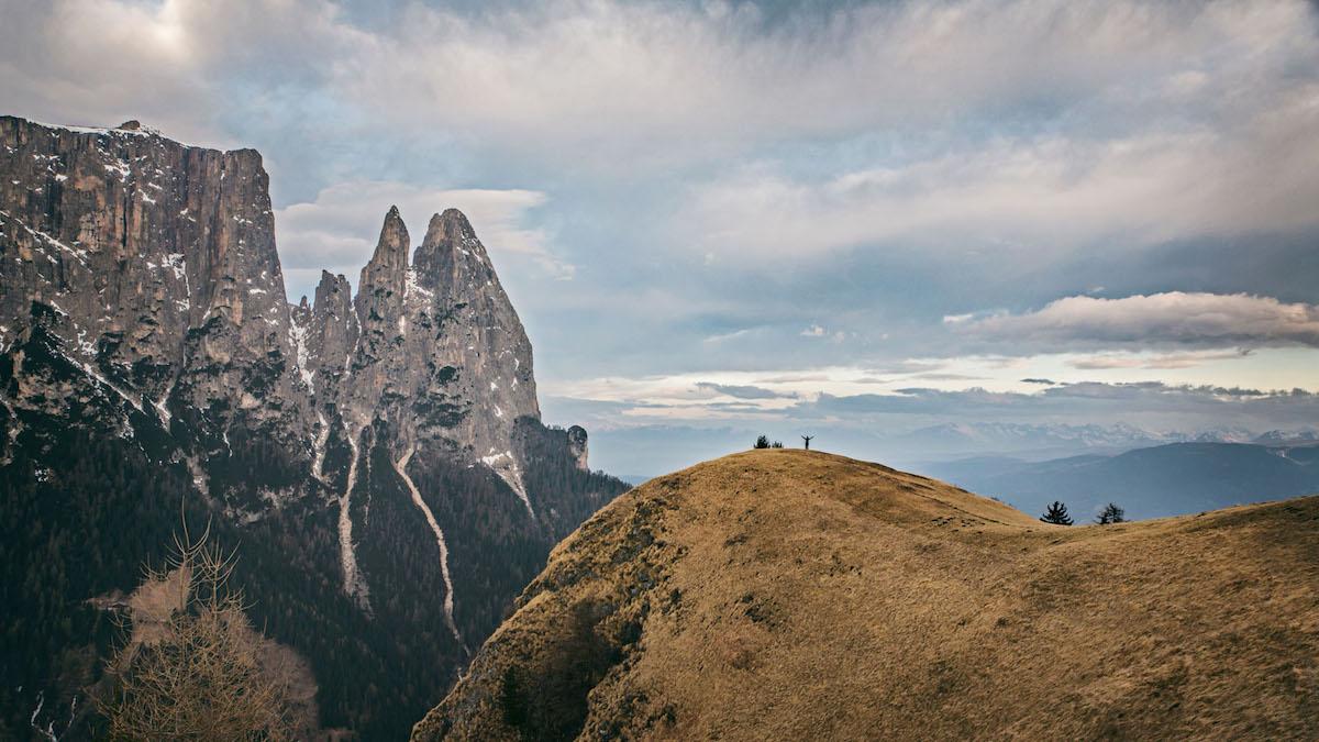 Hoch am Berg - die Seiseralm in Südtirol
