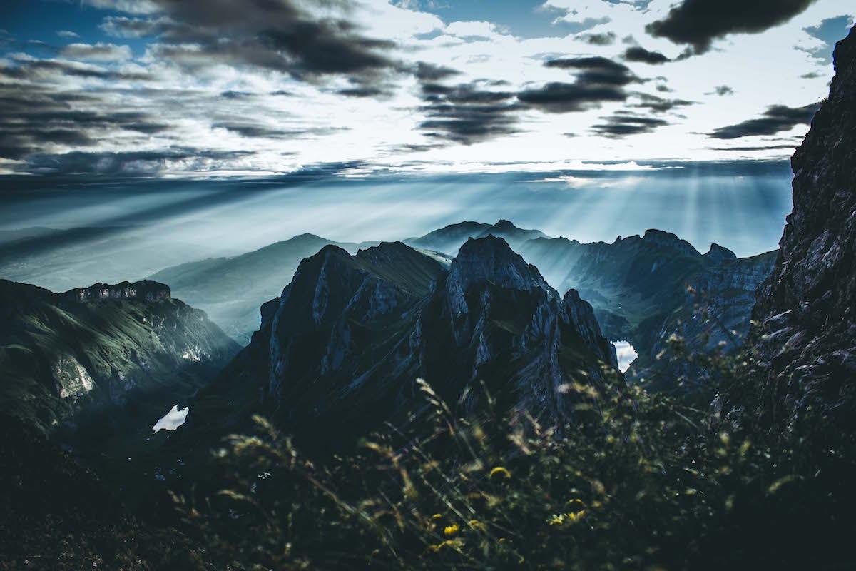 Sonnenaufgang im Alpstein