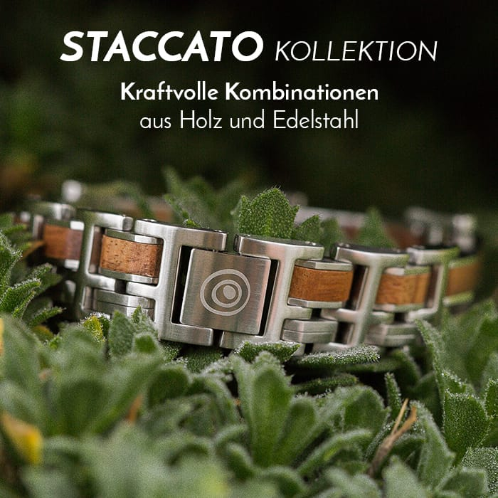 Die Staccato Bandlet-Kollektion