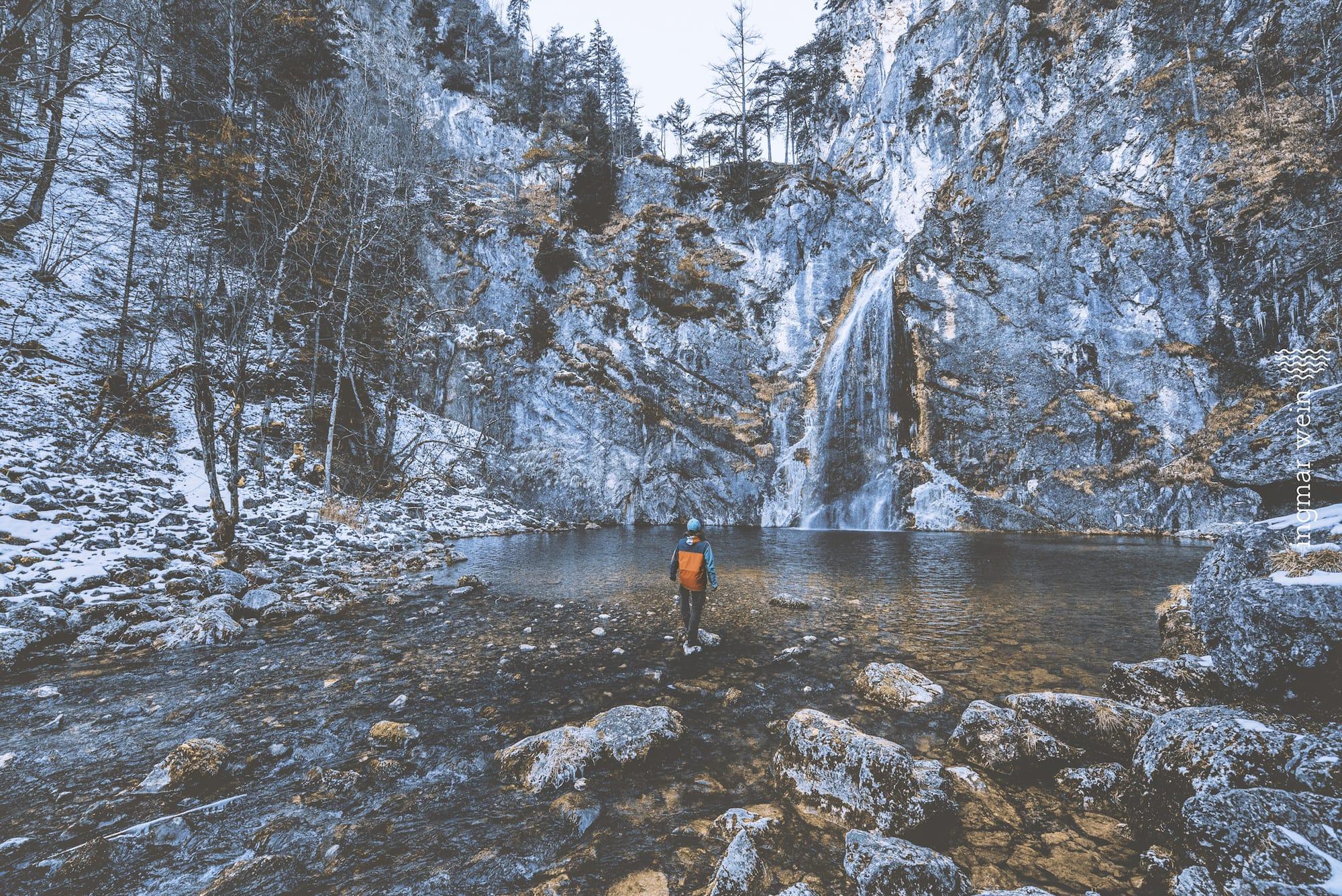 La cascada de Salza