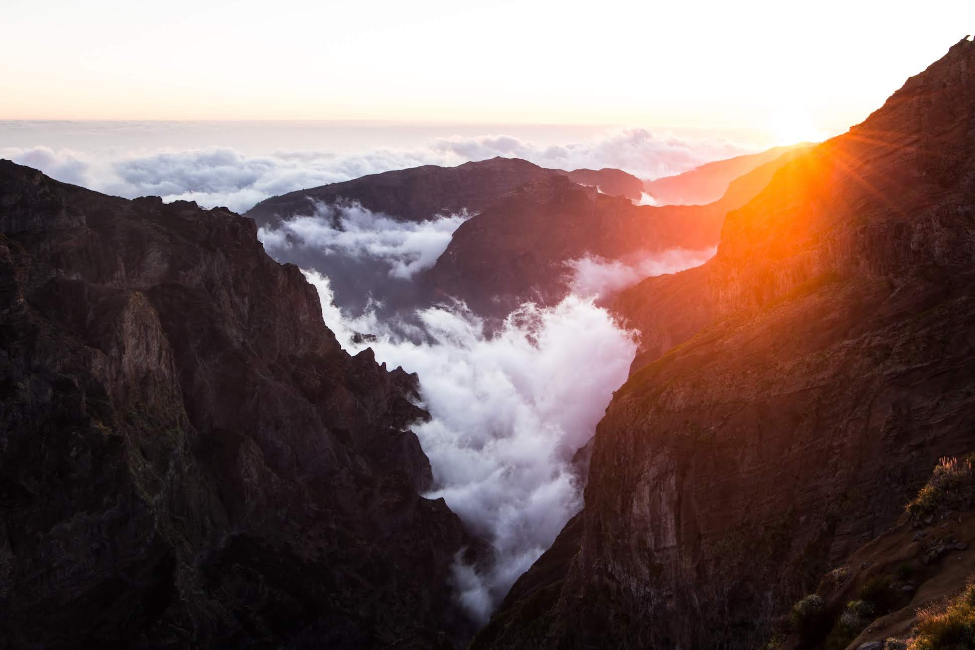 Above, within and below the clouds - Eine Photosession auf Madeira
