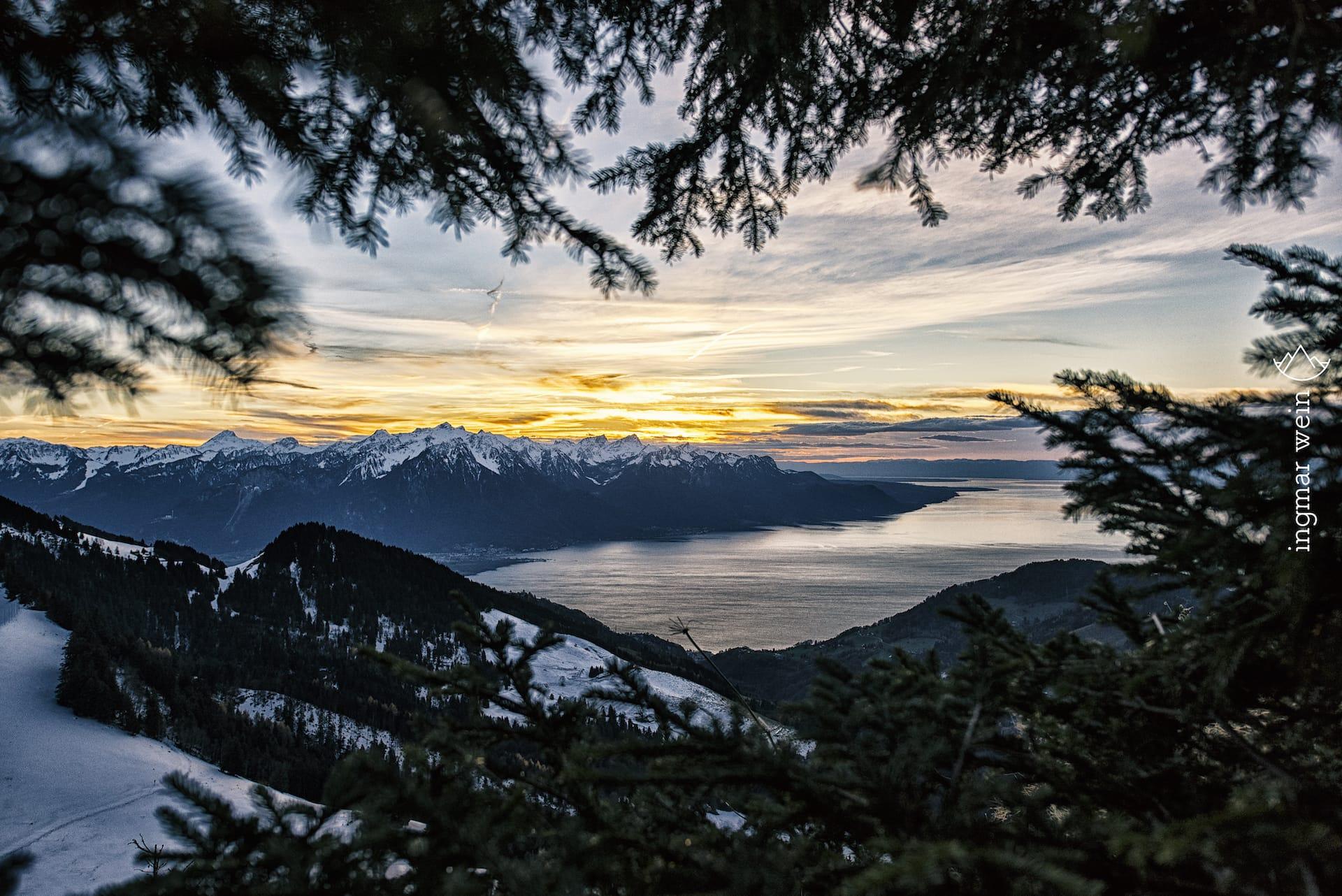 Travelling through Switzerland
