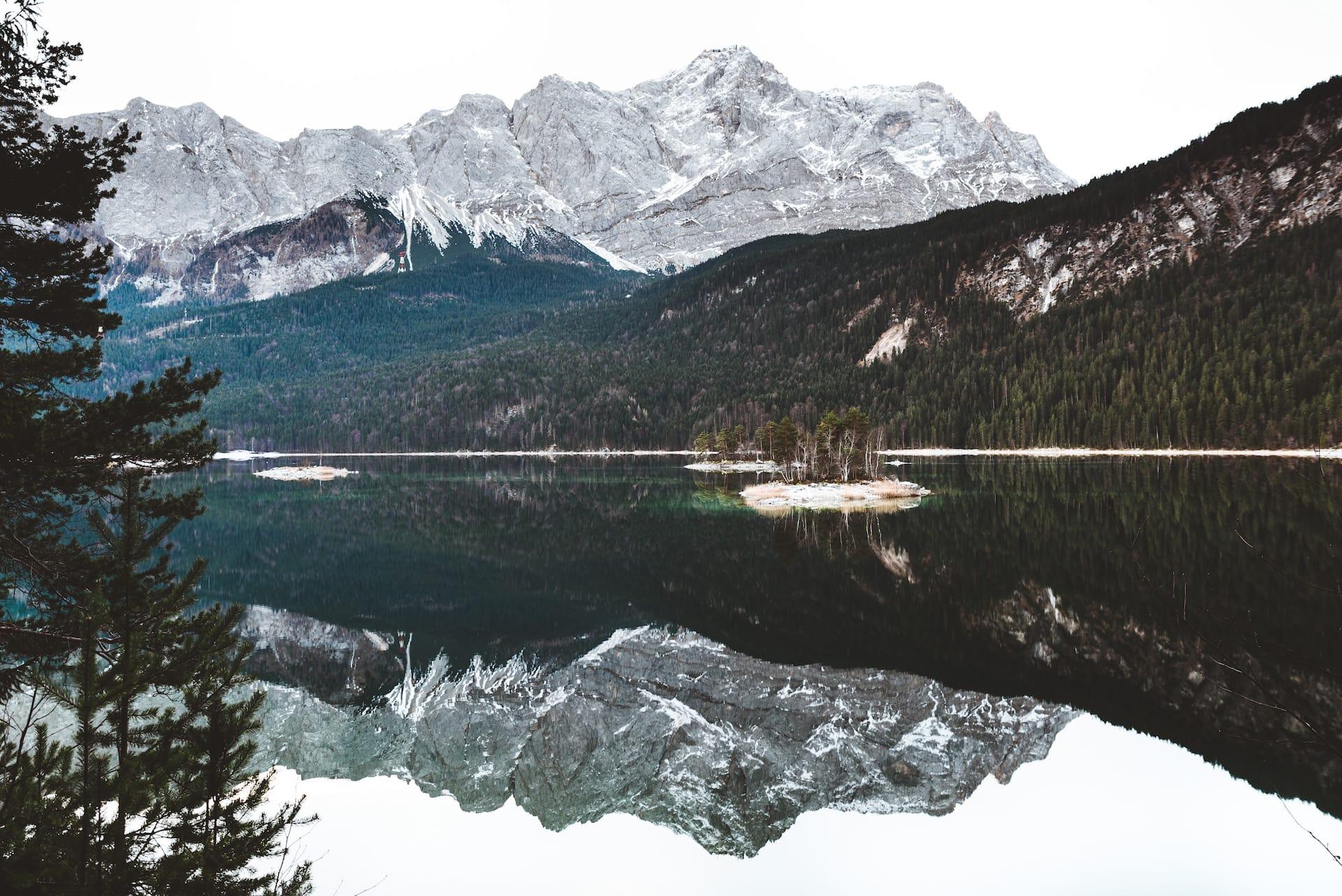 La región de Garmisch