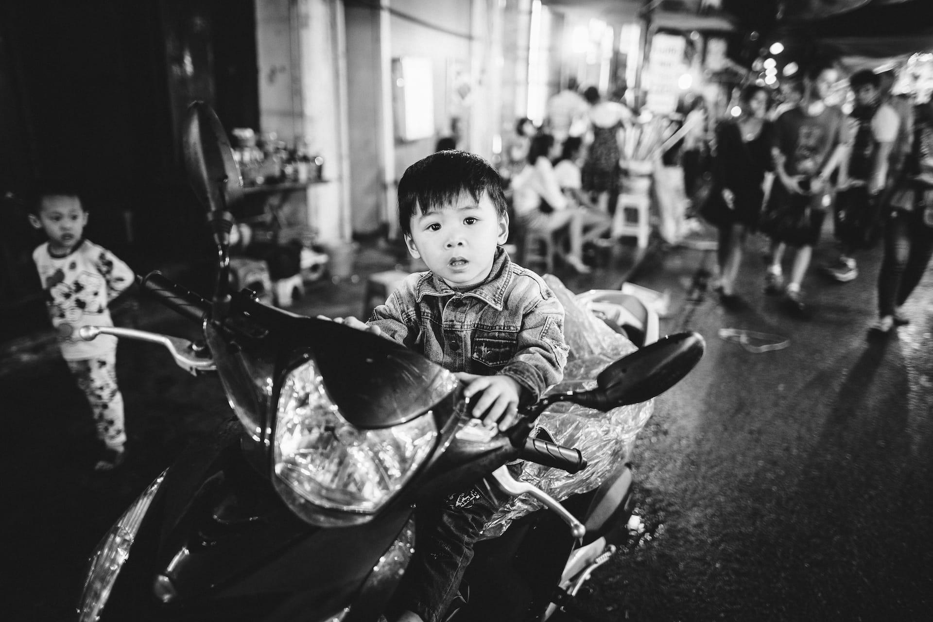In den Straßen Hanoi's