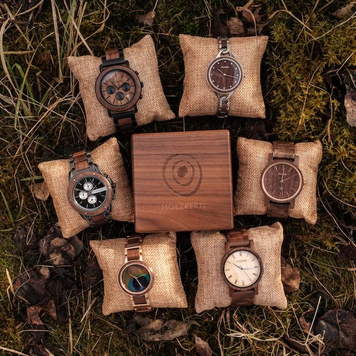 Holzkern montres en noyer