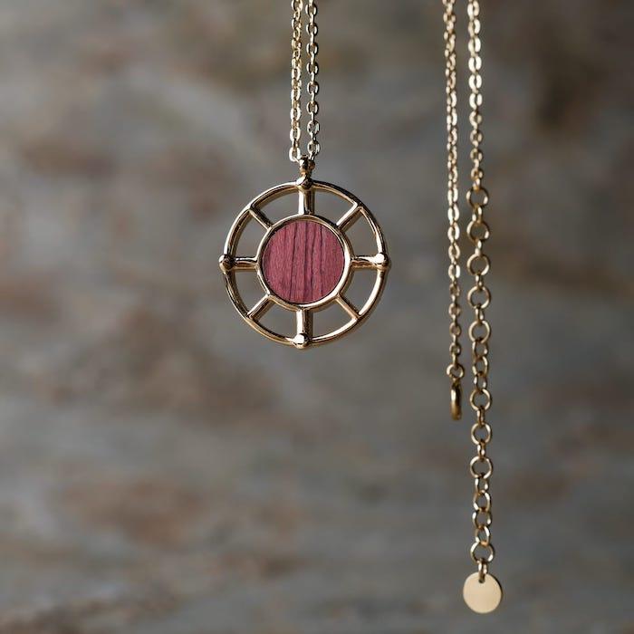 Amulett Halskette