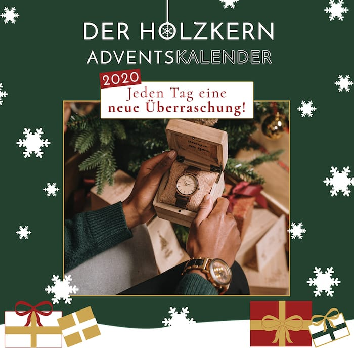 Der Holzkern Adventskalender
