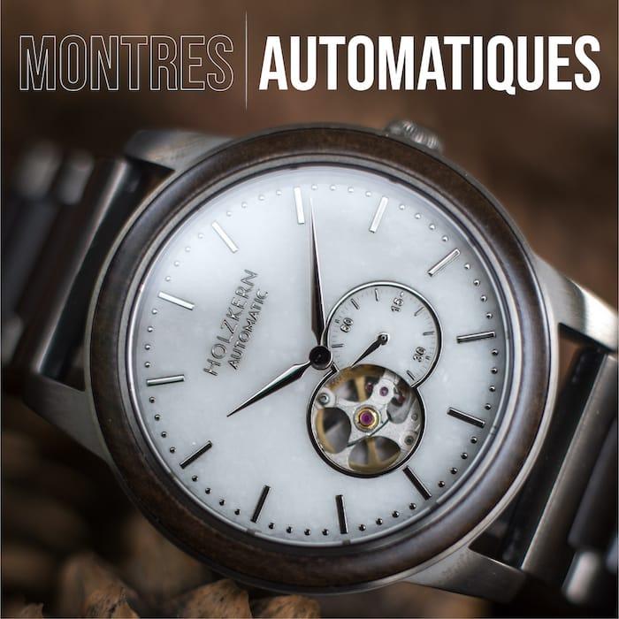 Holzkerns montres automatiques