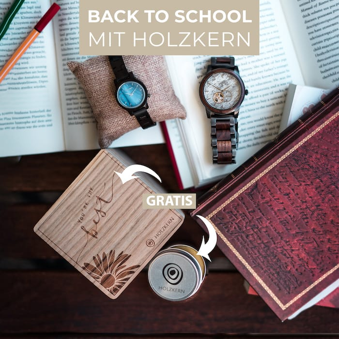 Back to School mit Holzkern