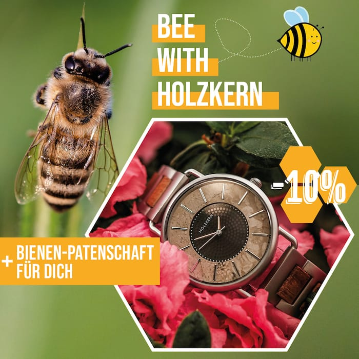 Bee with Holzkern!