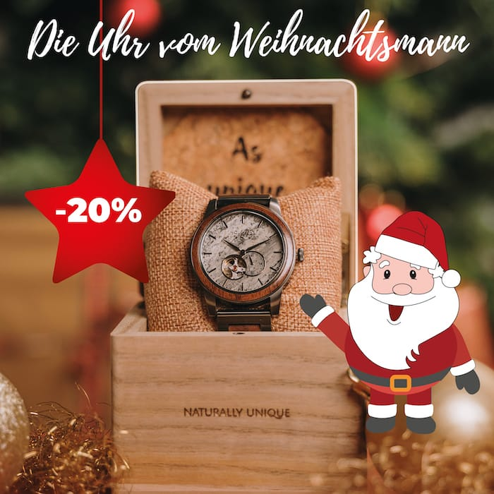 Die Uhr vom Weihnachtsmann 2020