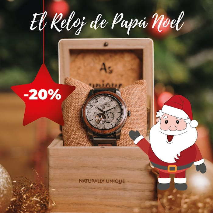 El reloj de Papá Noel 2020