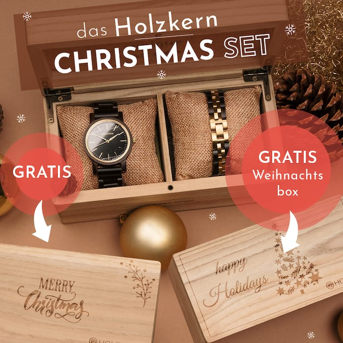 Holzkern Christmas Set