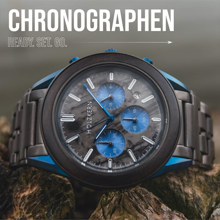 8 Gründe für einen Chronographen aus Holz und Stein